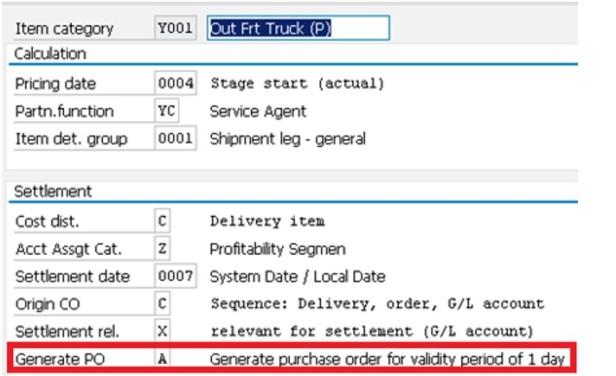 LE-TRA – Shipment & Shipment Cost Document Configuration