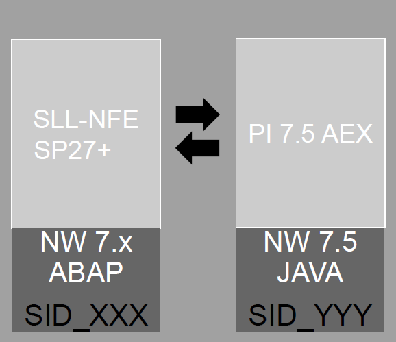 1 - SAP NF-e with SAP PI AEX